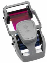 Красящая лента, для ZC350, Цветная YMCKO, 300 отпечатков (800350-550EM)
