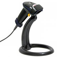 Сканер штрих-кода АТОЛ SB 1101 USB (чёрный) с подставкой