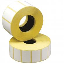 Полипропиленовые этикетки 43 x 25 (1 ряд, 1000 шт, 40 втулка)