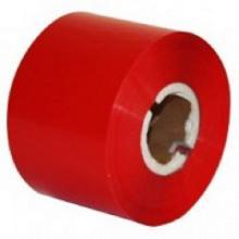 Термотрансферная лента Resin Format R500, 45 мм х 300 м, красная (red), OUT
