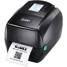 Godex RT863i, устройство термо-трансферной печати этикеток, 600 dpi, ЖК дисплей, и/ф RS232/USB/Ethernet/USB HOST (011-863007-000)