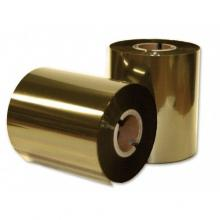 Термотрансферная лента Resin Comercial Arque X9356, 45 мм х 300 м, золотая (gold), OUT