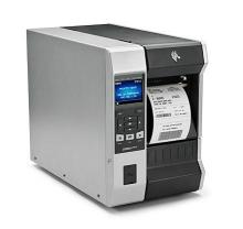 "Термотрансферный принтер Zebra ZT610, 4"", 300 dpi, Serial, USB, Ethernet, Bluetooth, USB Host, Намотчик (ZT61043-T2E0100Z)"