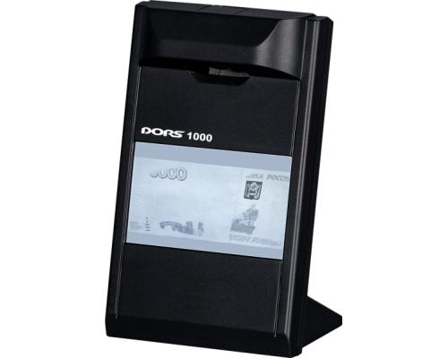Детектор банкнот DORS 1000 M3, черный