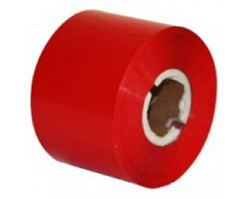 Термотрансферная лента Resin Format R500, 25 мм х 300 м, красная (red), IN