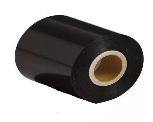 """Термотрансферная лента 300м*75 мм, WAX WSxF, черная, внутр. диам. 1"""", OUT"""